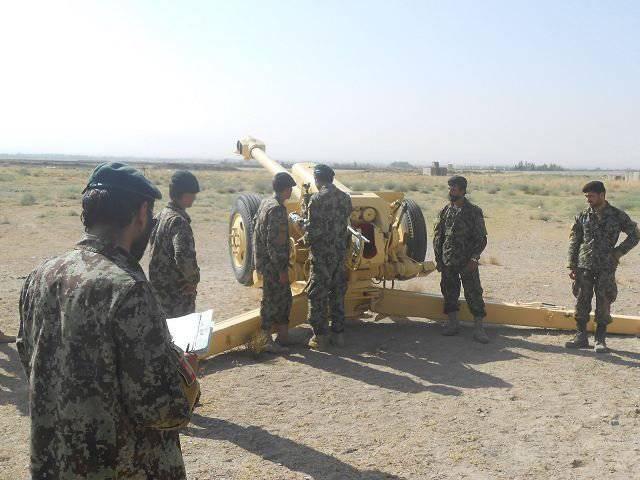 アフガニスタンの砲兵はウクライナの開発を使用してD-30 itz弾砲の有効性を高めています