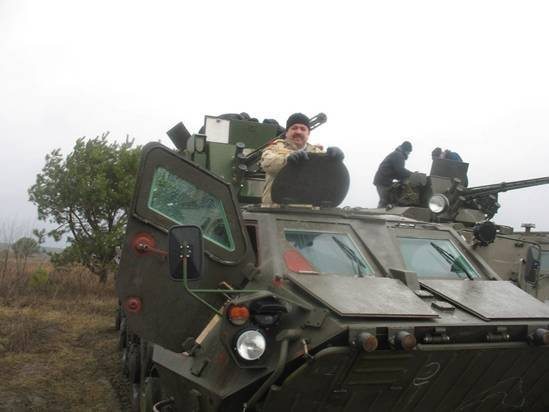 Misadventures of Ukrainian armored personnel carriers in Iraq
