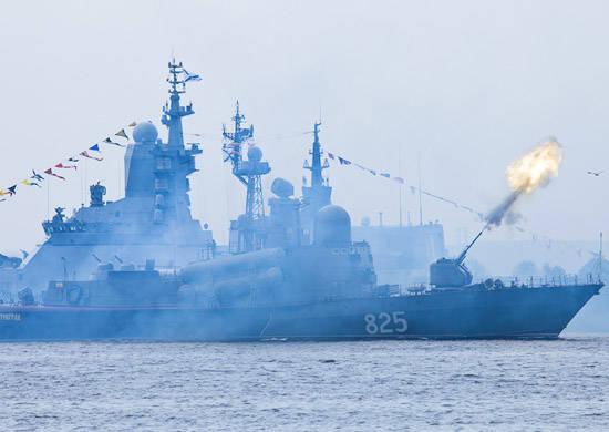 2014 में, बाल्टिक फ्लीट के जहाज कई प्रमुख अंतरराष्ट्रीय नौसेना अभ्यासों में भाग लेंगे