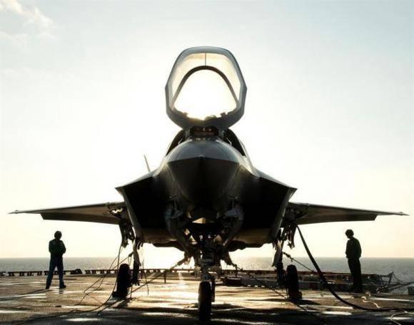 Chinesische Magnete auf F-35