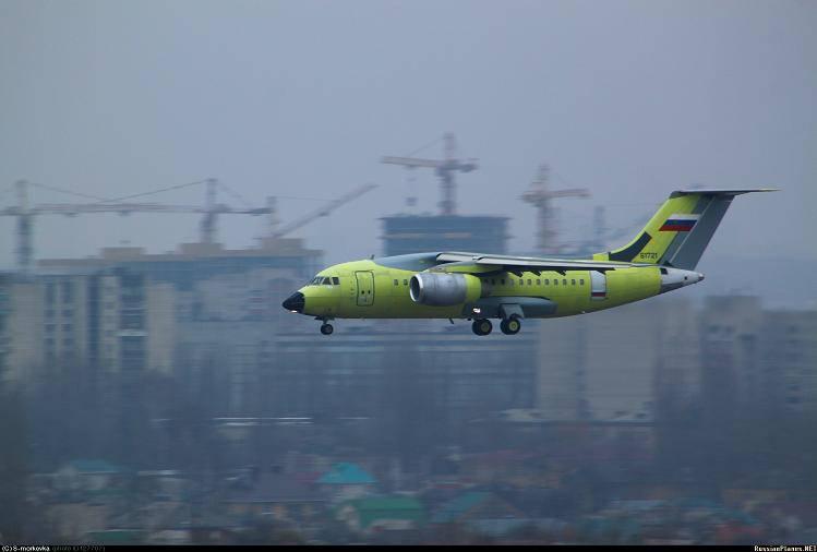러시아 공군을위한 두 번째 An-148