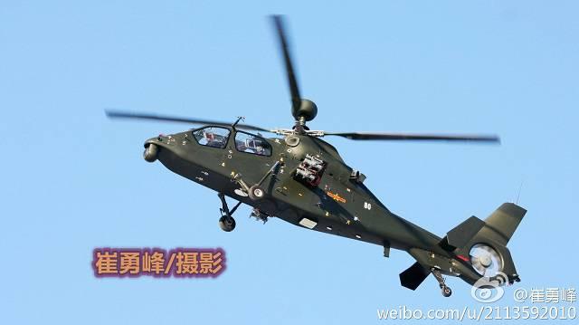चीन दो तरह के अटैक हेलीकॉप्टर विकसित करता है