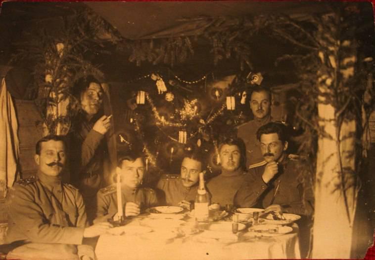 Noël sur le front allemand. Extrait des chroniques du régiment de carabine sibérienne 29 (1914-1917)