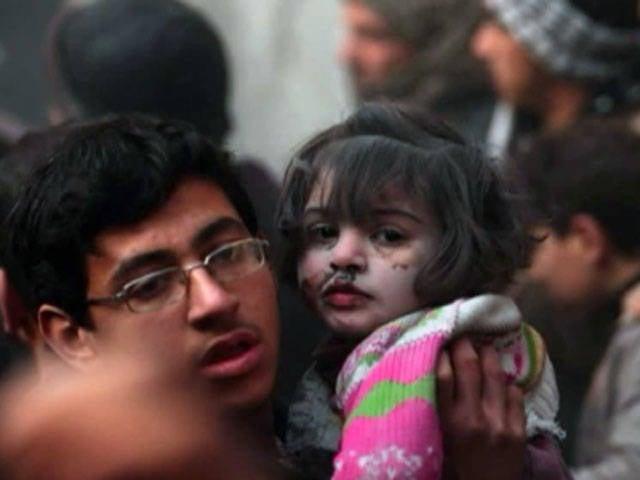 Tudo por causa de provocação: a oposição síria publica cenas horrendas