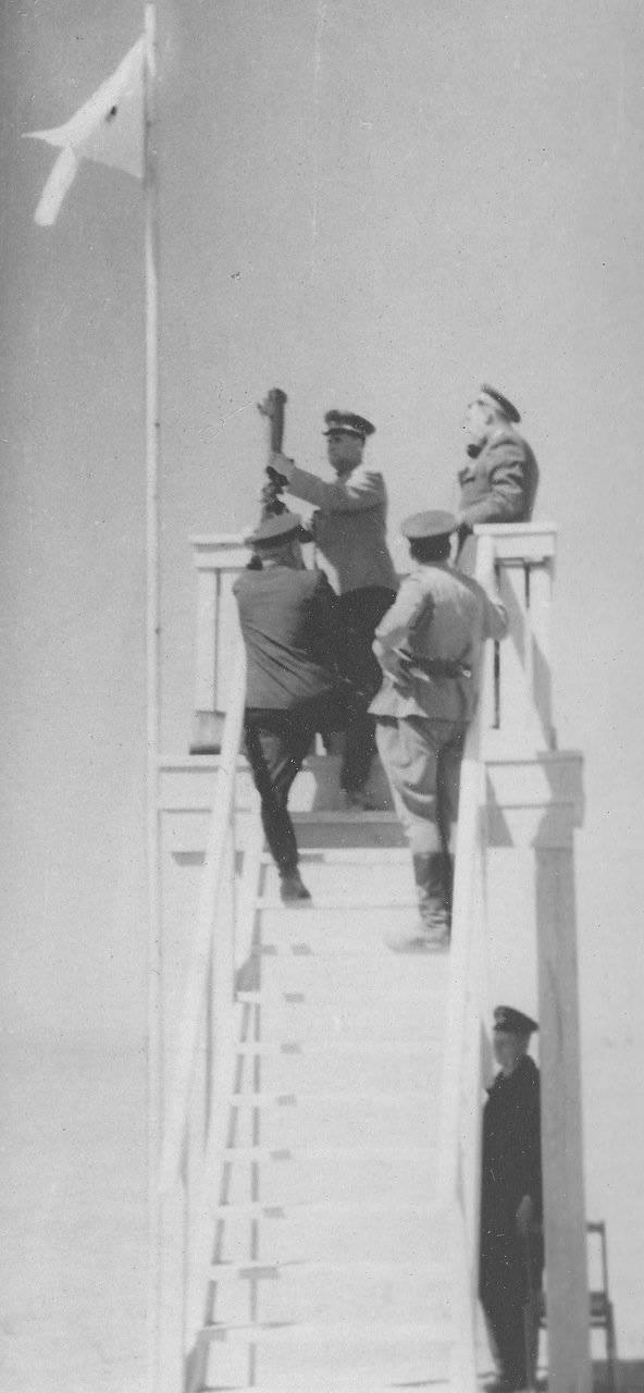 1953. Sur les manœuvres TurkVO