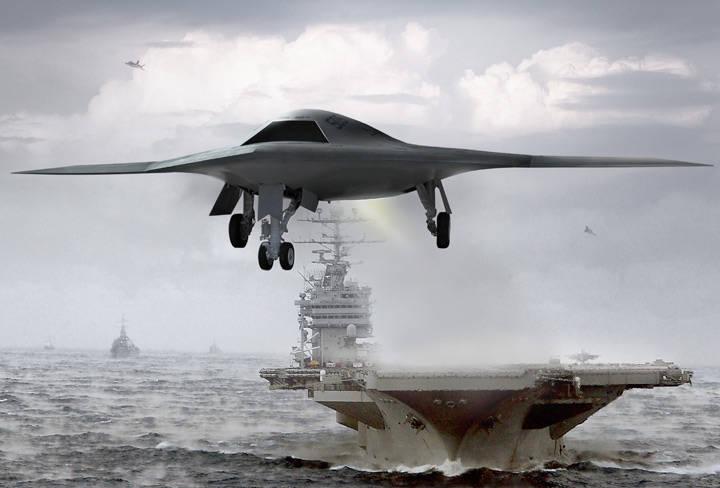 갑판 무인 항공기 - 전쟁 전술의 새로운
