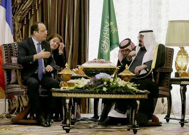 """France et Arabie saoudite: l'Union des """"exclus"""""""