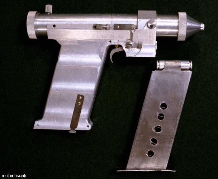 Made in USSR: pistola laser cosmonauta