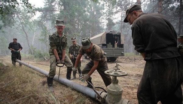Dia da criação de tropas de oleoduto da Rússia