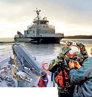 कर्व के आगे का खेल। रूसी नौसेना की बचाव नौकाओं की समस्याएं और संभावनाएं