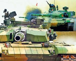 中国的可怕盔甲。 中国的坦克力量使该国成为世界军事强国的第一排