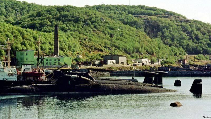 In Russland entsorgten zum ersten Mal Schiffe Dienstleistungen der Atomtechnik