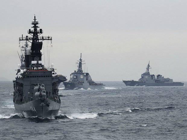 """A crise global e a """"ameaça amarela"""" levaram à corrida armamentista dos países da região Ásia-Pacífico. Parte do 4. A ameaça do surgimento da """"OTAN asiática"""""""