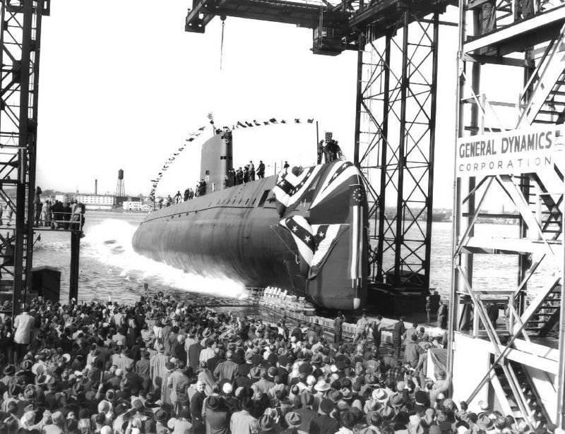 60 anni fa è stato lanciato il primo sottomarino nucleare
