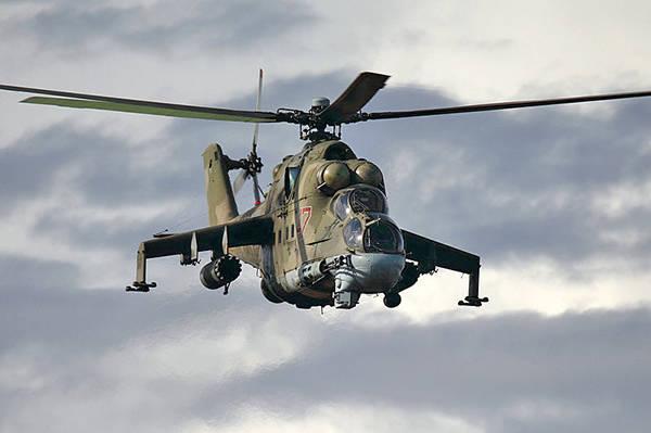 Esquadrão de helicóptero formado na base russa na Armênia