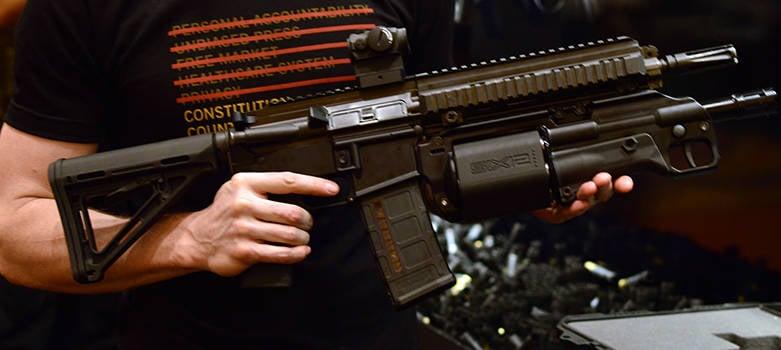 Crye Precision Introduces 6 12 Caliber Shotgun Revolver Shotgun