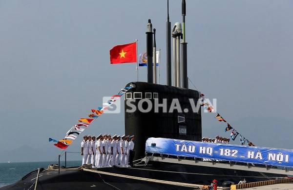 Le Vietnam a reçu un deuxième projet sous-marin 06361 et mis en service le premier