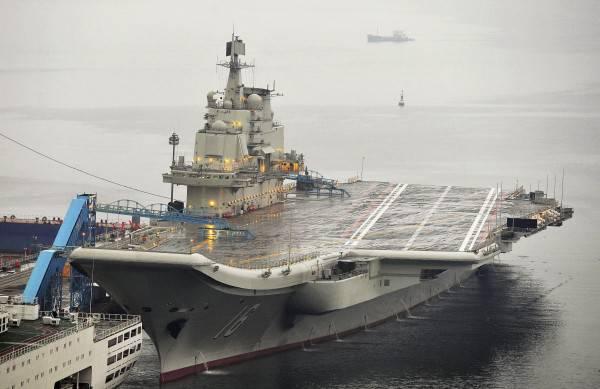 중국, 두 번째 항공 모함 건설 시작
