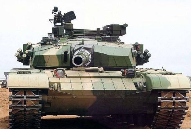 En Chine, a déclassifié la dernière modification du réservoir Type-99G