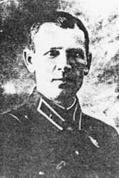 Combrig 44-th divisão Alexei Vinogradov.
