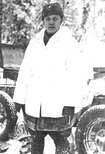 Chefe do Estado-Maior Capitão Alpo Kullervo Martinen (um dos líderes da derrota das divisões 44-th e 163-th). Fotos do arquivo finlandês da Guerra de Inverno http://sa-kuva.fi