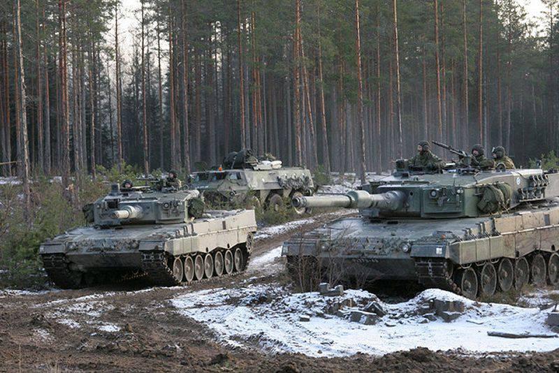 Финляндия получит 100 танков Leopard 2A6NL