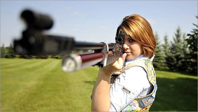 Rifles de ar e pistolas
