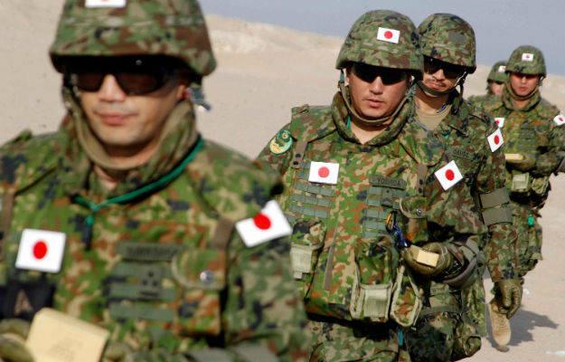 Construção militar no Japão e a situação no APR