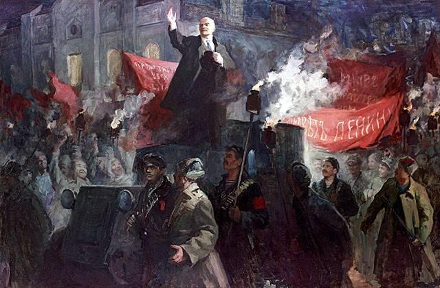 Lenin schlug die Einnahme von Petrograd durch die Deutschen