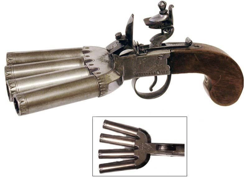 Flint Salvo Gun Pied De Canard