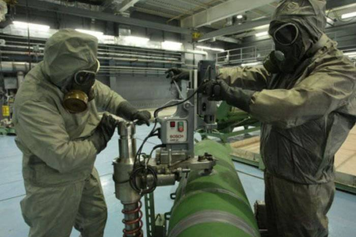 The destruction of the Russian chemical weapons is coming to an end