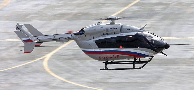 """यूरोकॉप्टर EC145 SLO """"रूस"""" में"""
