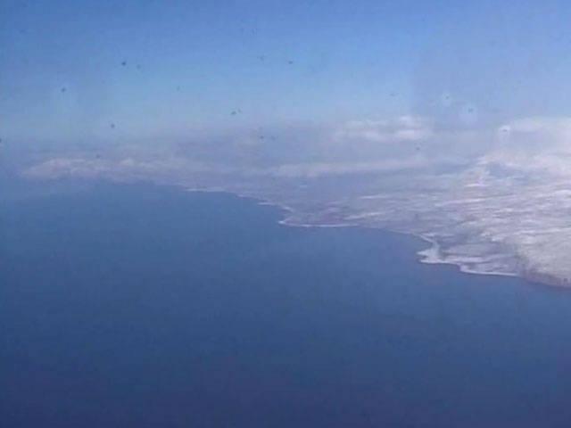 10 명의 사할린 국경 수비대가 쿠 나시르 섬 근처에서 침몰했다.