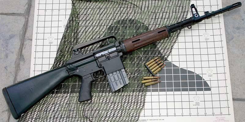 Armalayt AR 10 tüfek, mm kalibreli 7,62