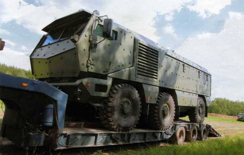 How is the newest military KAMAZ