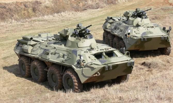 Le plus récent BTR-XNUMHA sera testé dans les montagnes de l'Abkhazie
