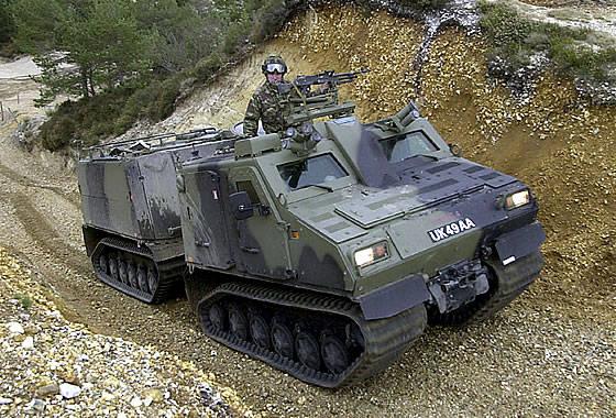 Il Ministero della Difesa austriaco sta negoziando l'acquisto di veicoli fuoristrada corazzati BvS-10