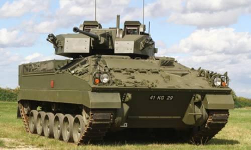 イギリスのBMP「戦士」の近代化の新しい段階