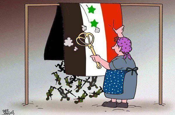 """La """"oposición"""" siria dejó caer la máscara"""