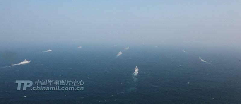Первая китайская авианосная ударная группа