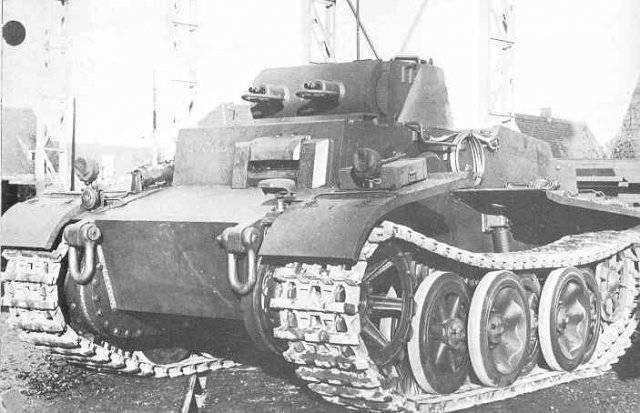 Немецкий авиадесантный танк VK601 (Pz Kpfw I Ausf C)