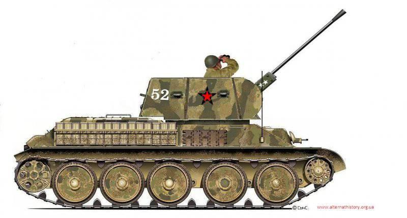 Башня Савина для 37-мм ЗСУ Т-34