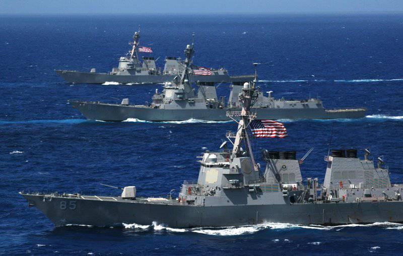 ВМС США приобретут 8 боевых кораблей в 2014 году