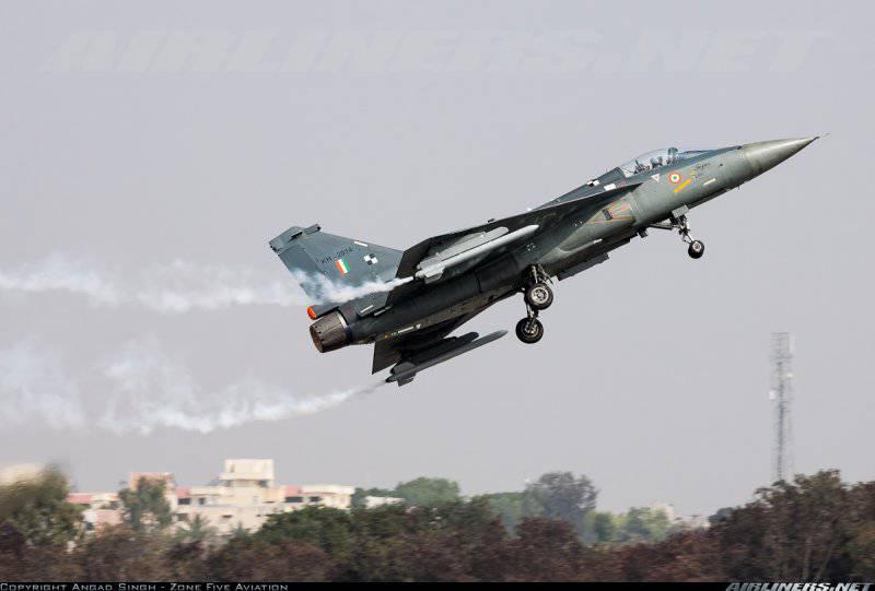 Названа ориентировочная цена Tejas Mark I для ВВС Индии