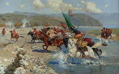Битва за Грузию: сражение на реке Иори, 1800 г.