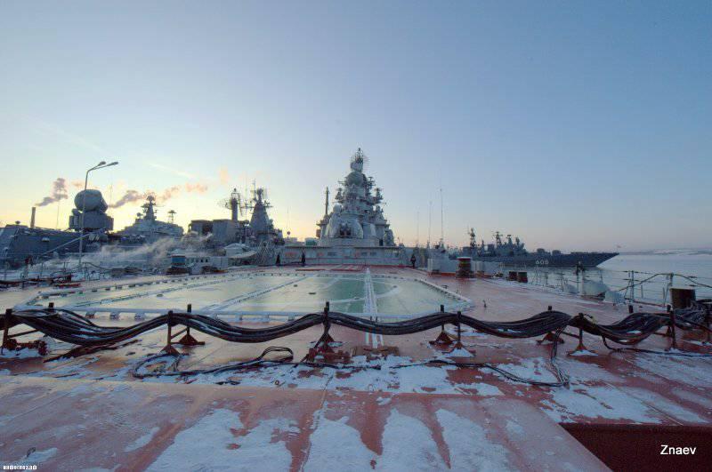 Начался ремонт ракетного крейсера «Адмирал Нахимов