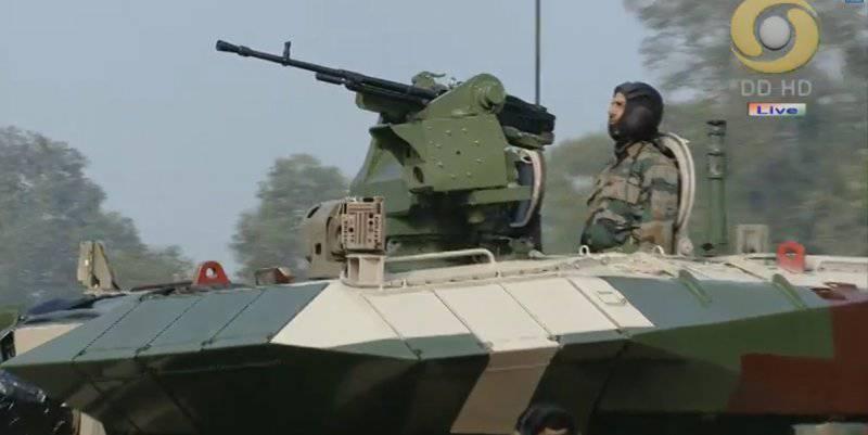Индия показала широкой публике новый танк