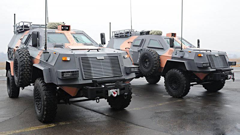 Грузинская машина связи на базе бронеавтомобиля Didgori 2