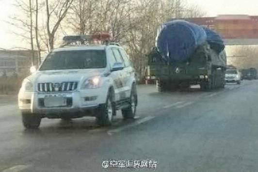 최신 중국 미사일 시스템 DF-41의 첫 번째 사진이 등장했습니다.