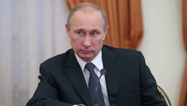 Путин подписал закон о военной полиции